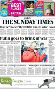 The Sunday Times -- 031614